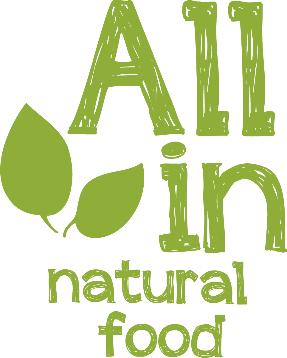 ALL IN natural food - logó