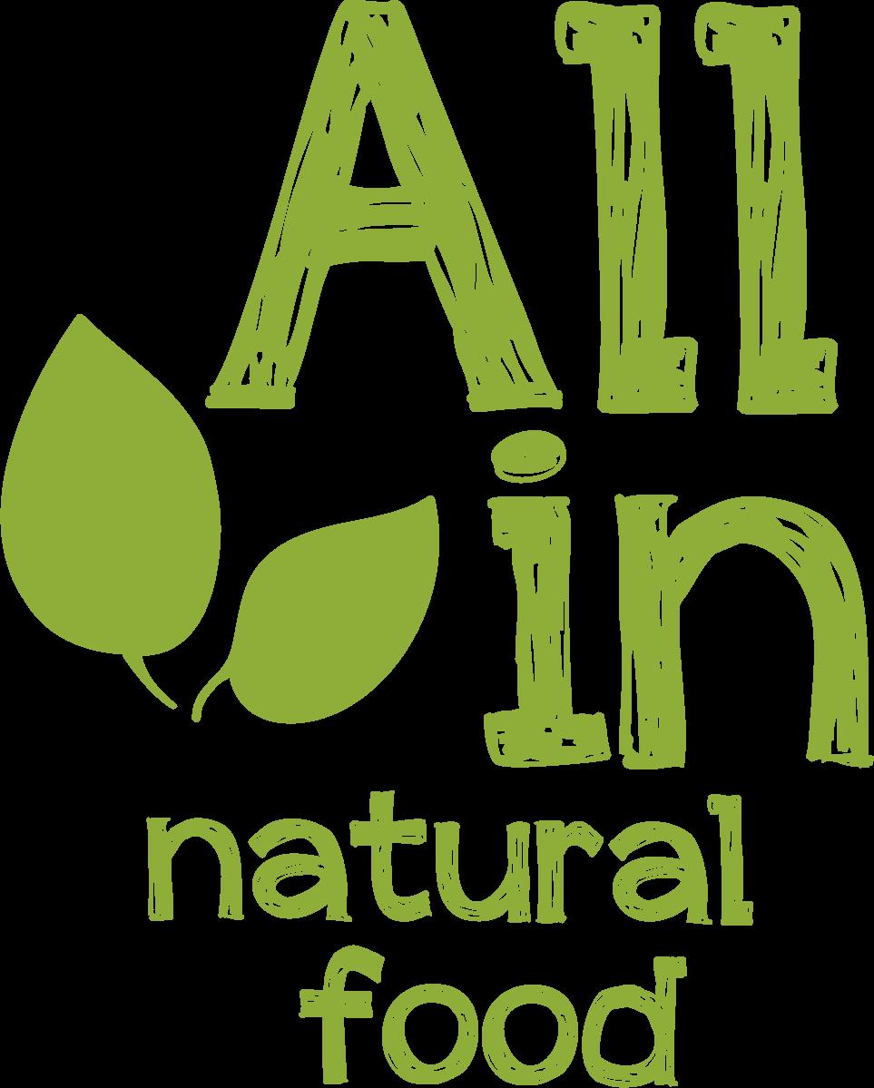 ALL IN natural food - logó