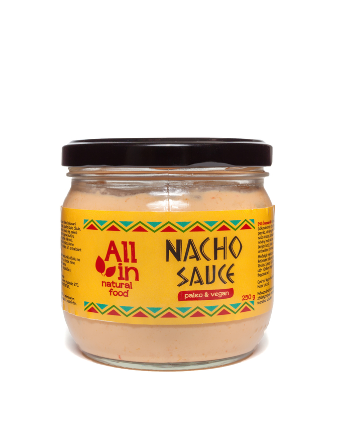 ALL IN natural food - paleo és vegán nacho sauce