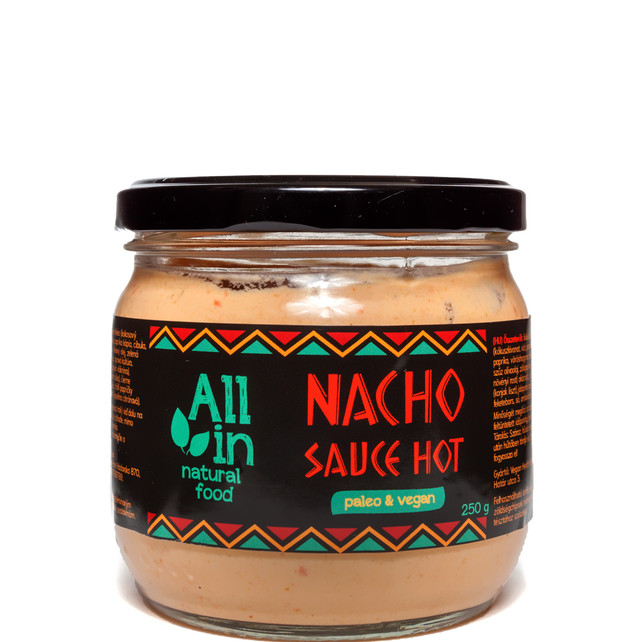 ALL IN natural food - paleo és vegán nacho sauce hot