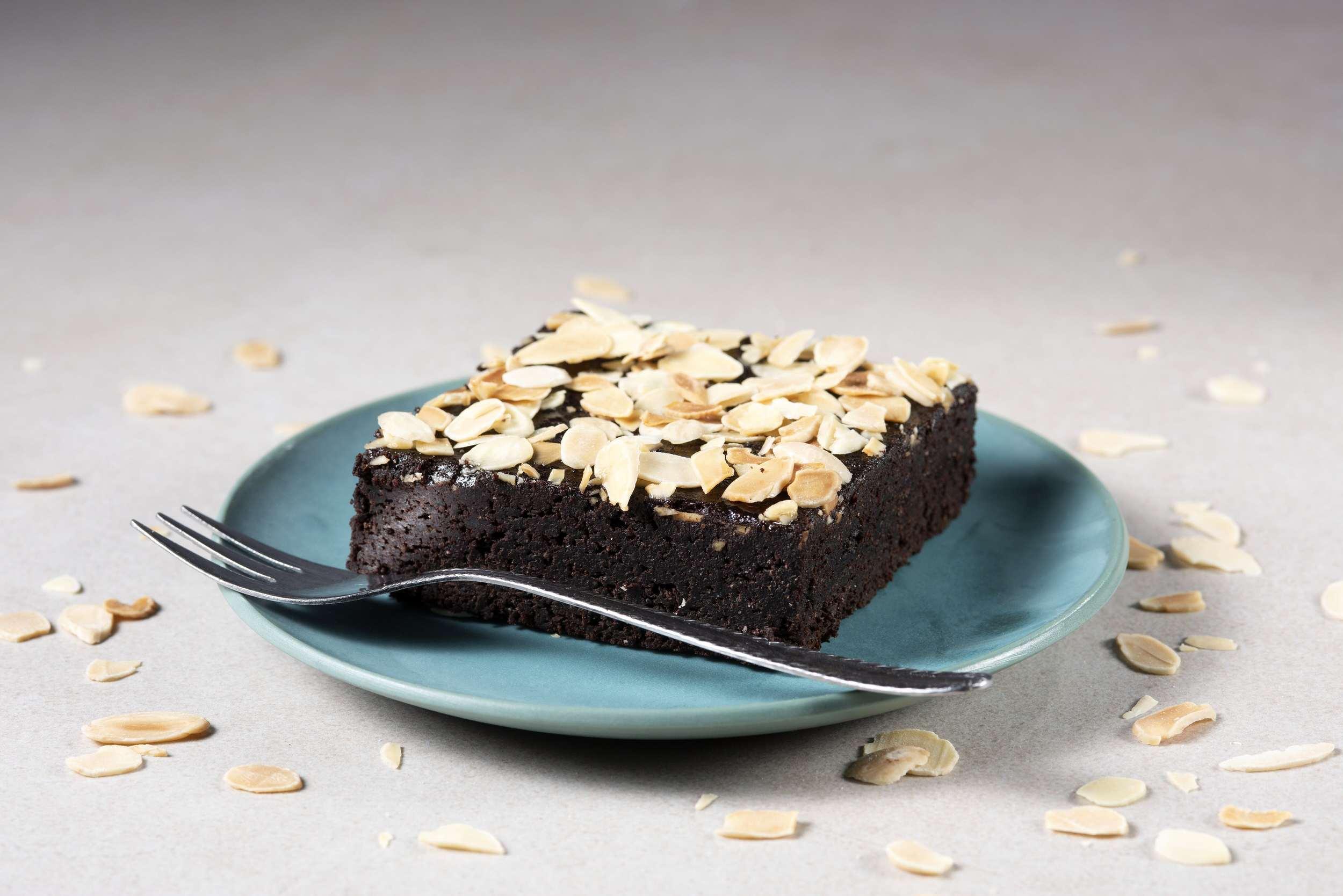 ALL IN natural food - paleo és vegán narancsos brownie