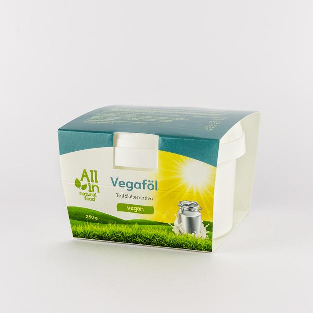 Vegaföl, vegán tejföl - ALL IN natural food