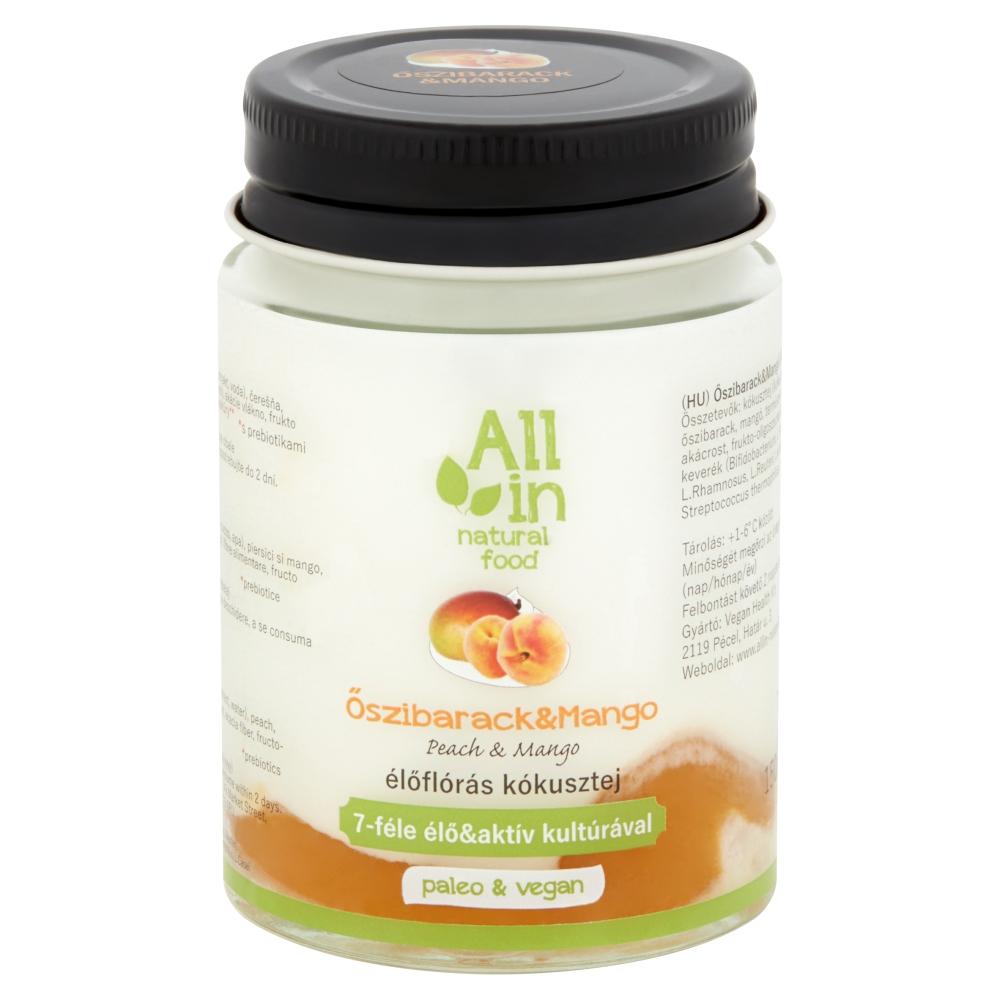 ALL IN natural food - paleo és vegán ivójoghurt