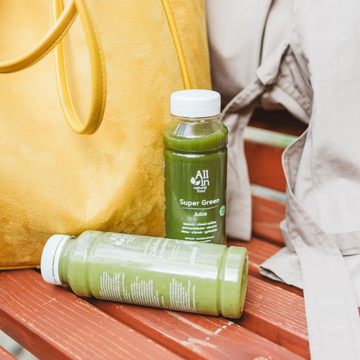 ALL IN natural food - Super Green Juice
