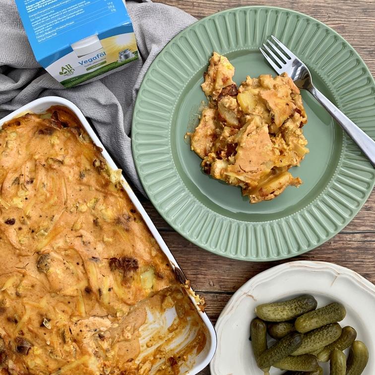 ALL IN natural food- vegán rakott krumpli recept