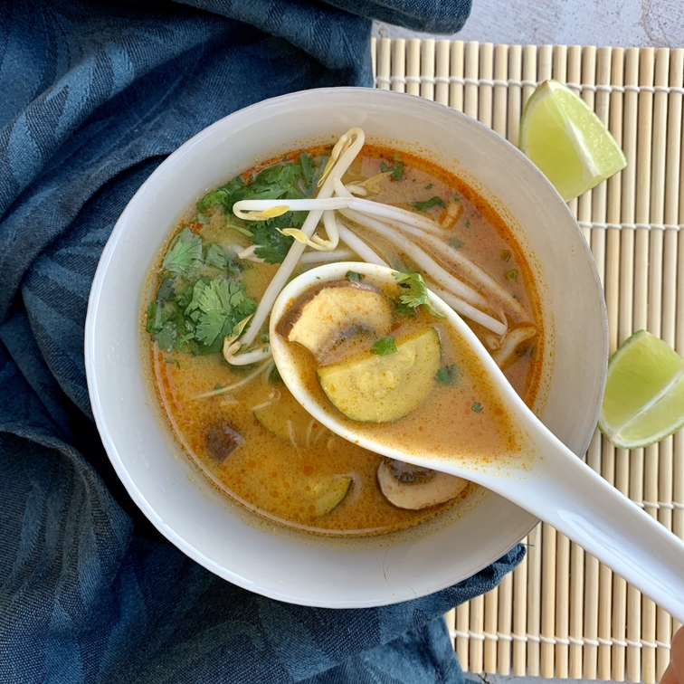 thai kókusztejes leves recept - ALL IN natural food