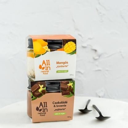 ALL IN natural food - Mangos_turotorta_es_csokolades_sajttorta_1