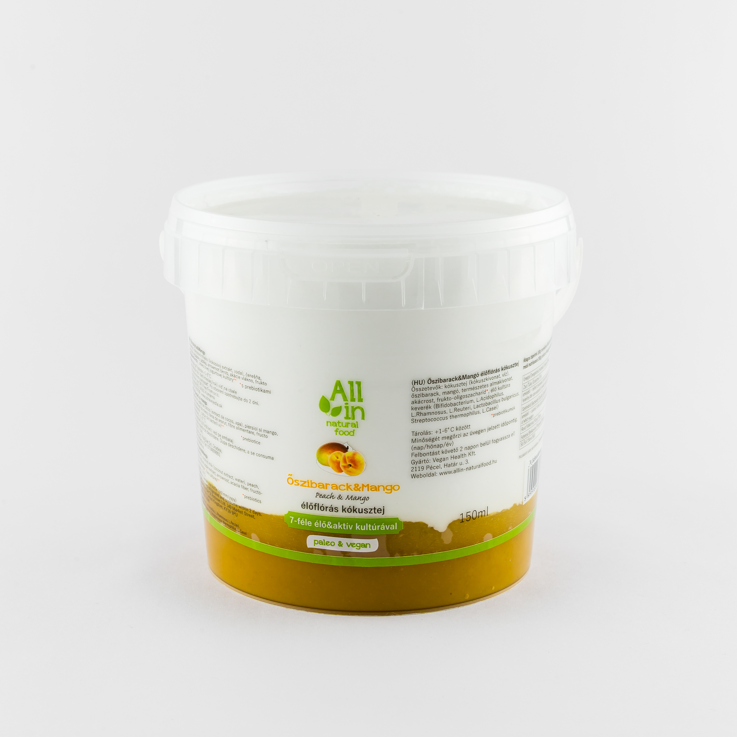 1000 ml Kokuszjoghurt_mango_oszibarack - ALL IN natural food
