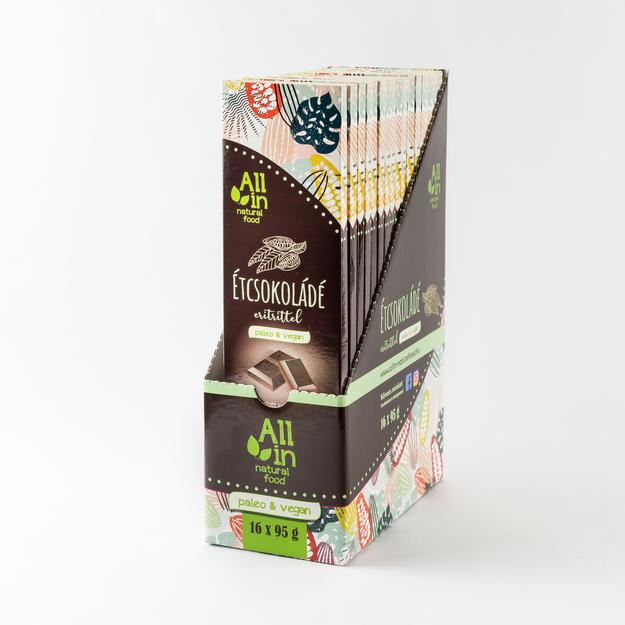 All in natural food - étcsokolade_gyujtocsomagolás
