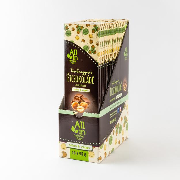 All in natural food - törökmogyorós étcsokolade_gyujtocsomagolás